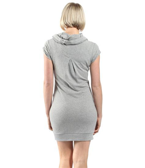 bench cardigans bench bench womens alisono sweater dress in gray lyst
