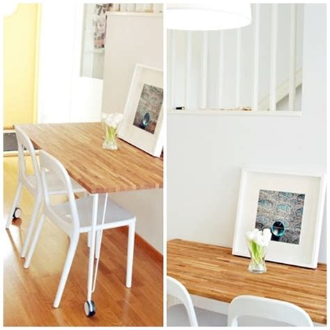 mesas para cocina ikea ikea hack mesa de cocina con un tablero de roble de