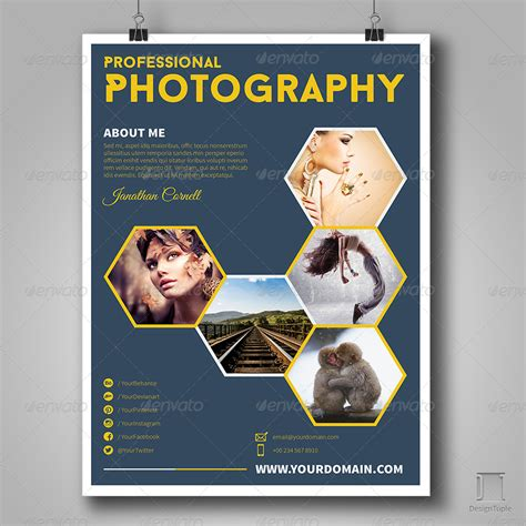 Get Minimal Photography Ad Template 01 By Authentrick Graphicriver Photography Advertisement Template