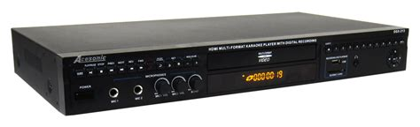 karaoke format converter acesonic dgx 213 hdmi multi format karaoke player