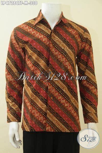Kemeja Furing Batik Kombinasi Tulis Dan Cap 49 kemeja batik parang elegan dengan kombinasi warna mewah cocok banget untuk kondangan dan acara