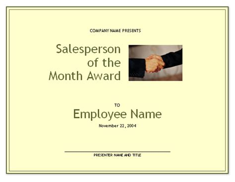 manager of the month certificate template certificates office