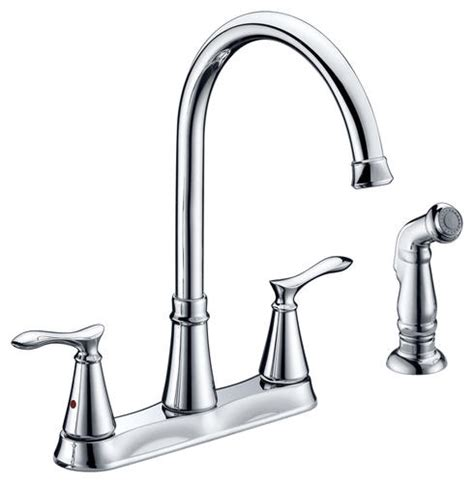 Kitchen Sink Faucet Menards Tuscany Marianna 2 Handle Kitchen Faucet At Menards 174