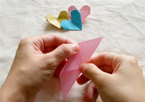 video tutorial how to make love origami heart tutorial kitty baby love