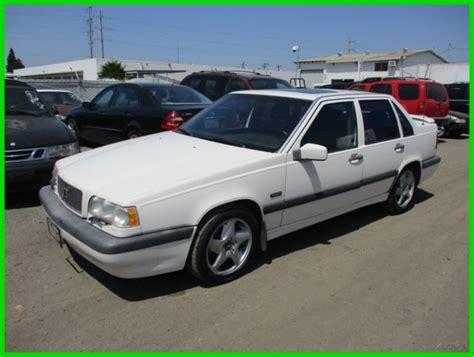 how petrol cars work 1994 volvo 850 free book repair manuals 1994 volvo 850 turbo used 2 3l i5 10v automatic sedan no reserve