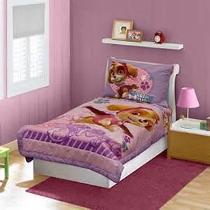 Toddler Bed Sheets Paw Patrol Paw Patrol Toddler Bedding Set Pink Home Garden Linens