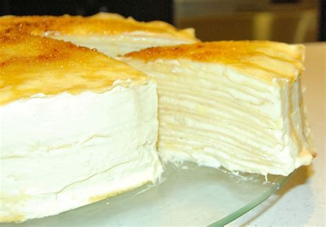 Mille Crepes Cake durian mille crepe