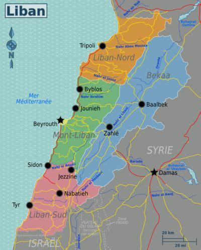 liban — wikivoyage, le guide de voyage et de tourisme