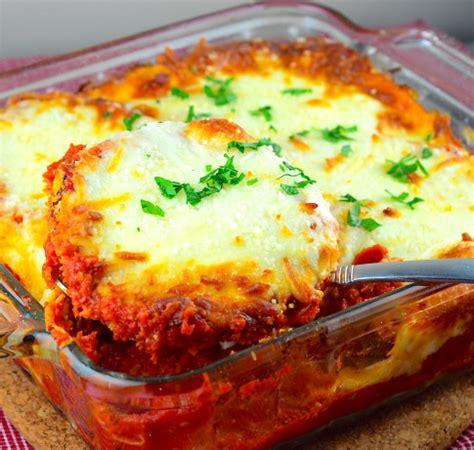 easy eggplant parmesan recipe foodcom