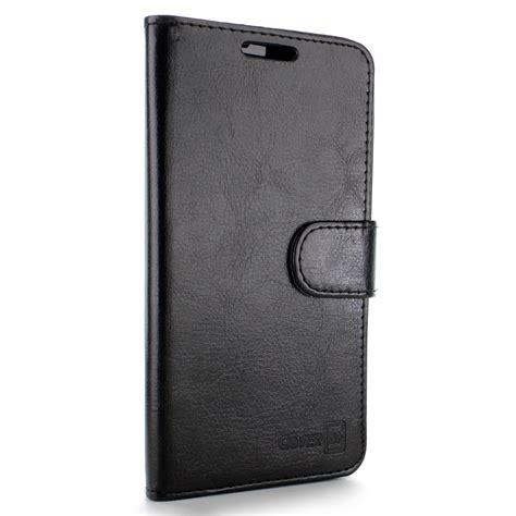Flip Cover Leather Wallet Asus Zenfone Go 5 Zc 510 Tg Vintage luxury black leather wallet cover folio flip pouch for asus zenfone 2e 5 0 quot ebay