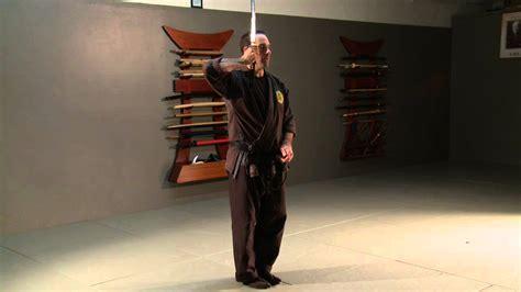 katana  kata shohatto samurai sword form  bujinkan
