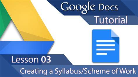 google layout tutorial youtube google docs tutorial 03 advanced layout creating a
