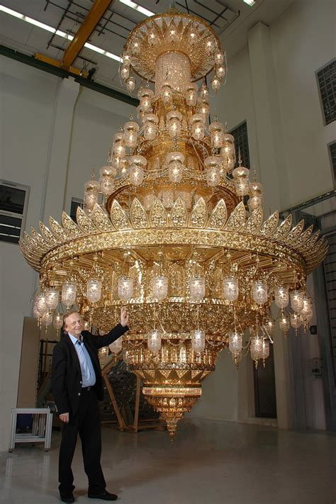 Mosque Chandelier New Chandelier From Ramingdorf For Mosque In Muscat Kny Design