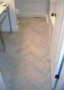 Bathroom Floor Tile Patterns Ideas Something About White Marble Herringbone Tile If I