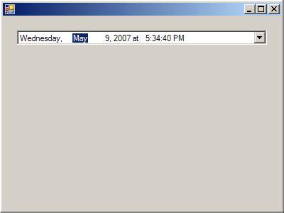 format datetimepicker datetimepicker format longdate longtime shortdate