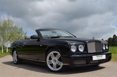bentley brooklands convertible used black metalic bentley azure for sale
