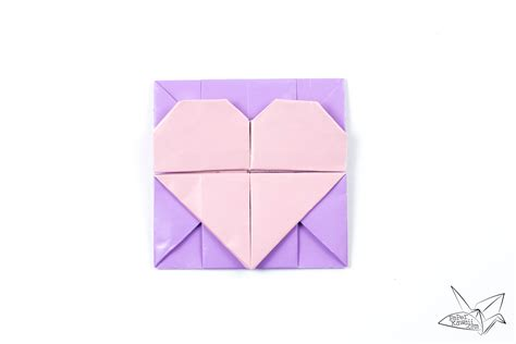 Origami Kawaii - origami opening box envelope tutorial paper kawaii