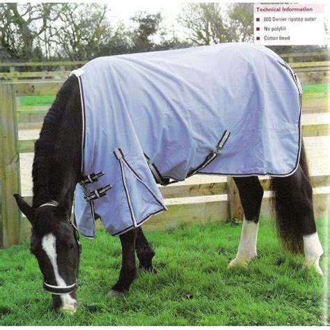 678 Rhinegold Torrent Lightweight Outdoor Horse Rug Outdoor Rugs For Horses