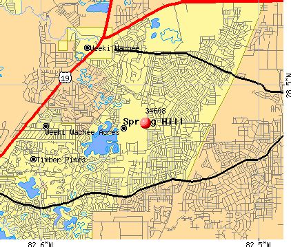 hill florida zip code map map of hill map travel holidaymapq
