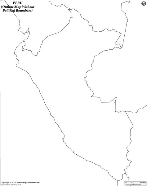 coloring page map of peru blank map of peru peru outline map