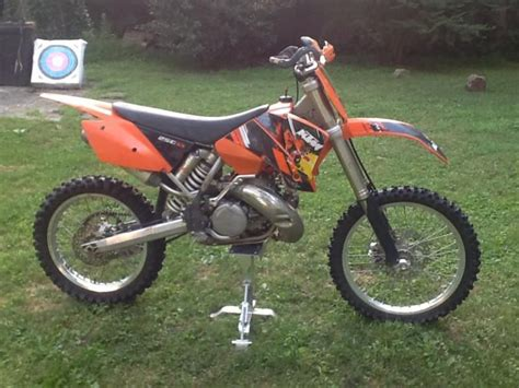 Used Ktm 250 Sx For Sale 2004 Ktm 250 Sx Condition For Sale On 2040 Motos