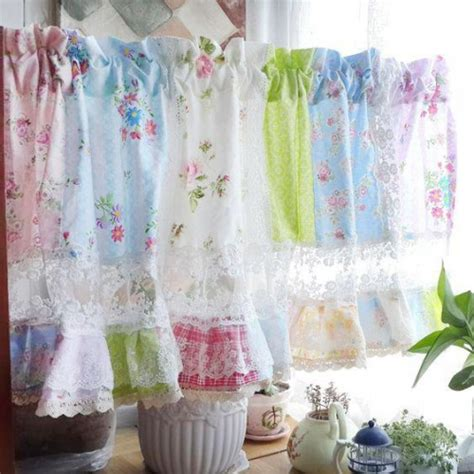 lace curtains garden of joy rose curtain