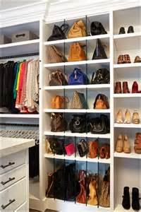Bag Closet by 17 Clever Handbag Storage Ideas And Solutions