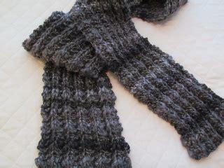 knitting pattern broken rib scarf ravelry best friend super bulky scarf pattern by krista