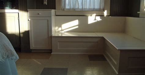 built in bench seating for kitchen kitchen bench with storage plans pdf woodworking