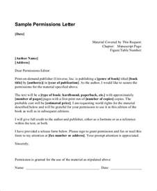 Permission Given Letter Request Letter Format To Permission