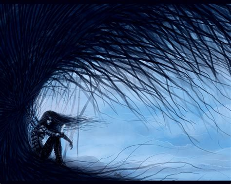 wallpaper dark emo wings of sadness wallpaper and background image