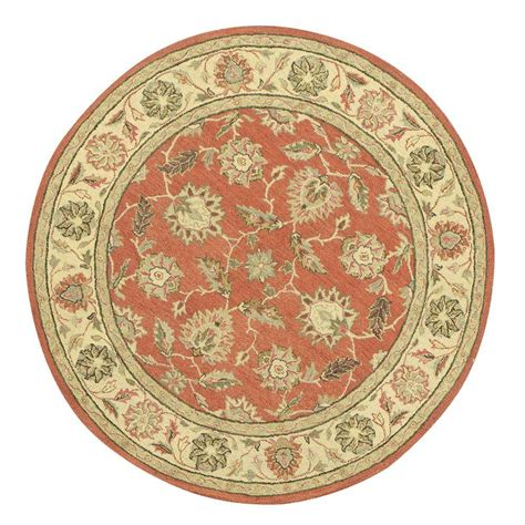 6ft Circular Rugs by Home Decorators Collection Terra Ivory 6 Ft X