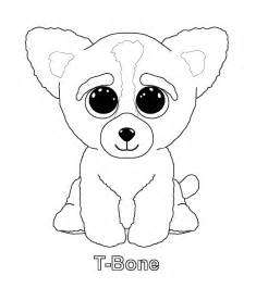 beanie boo corky colouring pages