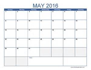 may calendar template may 2016 calendar template monthly calendar 2016 pdf