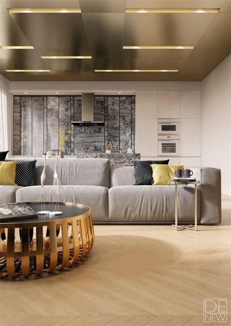 24 Trendy Modern Metal Ceiling Décor Ideas   Shelterness