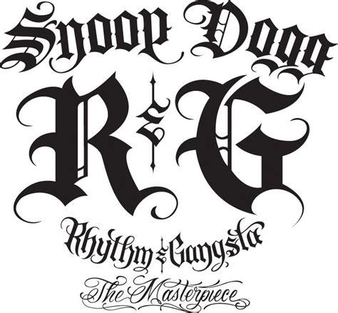 tattoo font arch generator gangster art pinterest snoop dogg