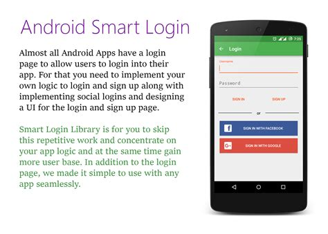 login mobile android android smart login by codelightstudios