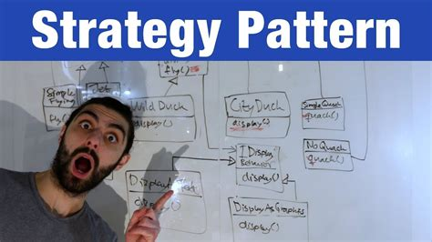 strategy design pattern youtube strategy pattern design patterns ep 1 youtube