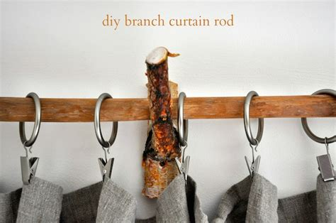 how to make a curtain rod how to make beautiful curtain rods out of tree branches