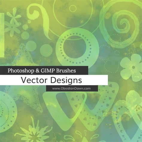 gimp tutorial vector vector designs photoshop gimp brushes obsidian dawn