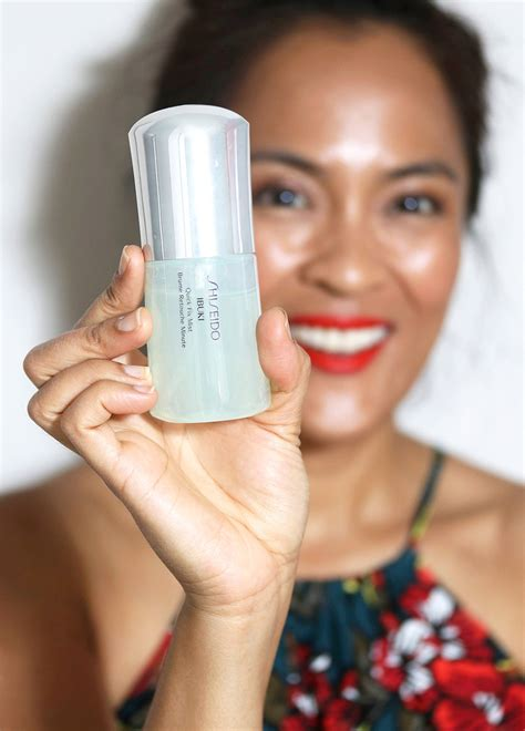 Shiseido Ibuki the 3 best makeup setting sprays to stop your from