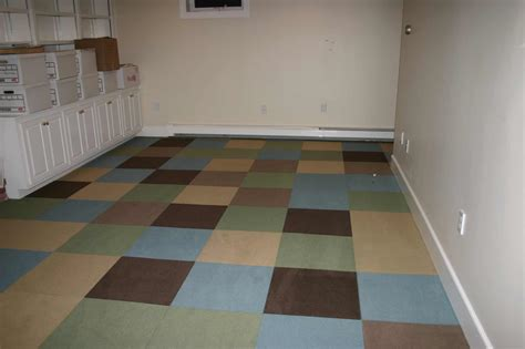 best basement flooring feel the home