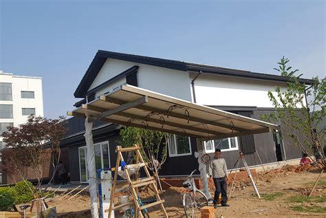 Single Carport Kit by Solar Carport Kit Made With Aluminum Frame For Cars