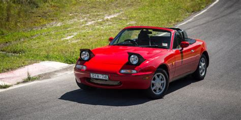 mazda mx 5 old v new comparison: first generation na v