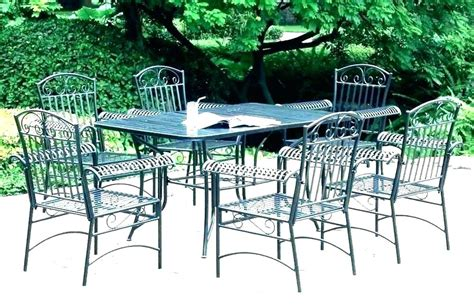 wrought iron outdoor dining sets outdoor furniture ideas