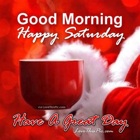 christmas good morning happy saturday quote pictures