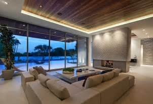 contemporary architecture and interiors on sunset