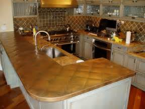 Copper Kitchen Countertops Copper Countertops Hoods Sinks Ranges Panels By Custom