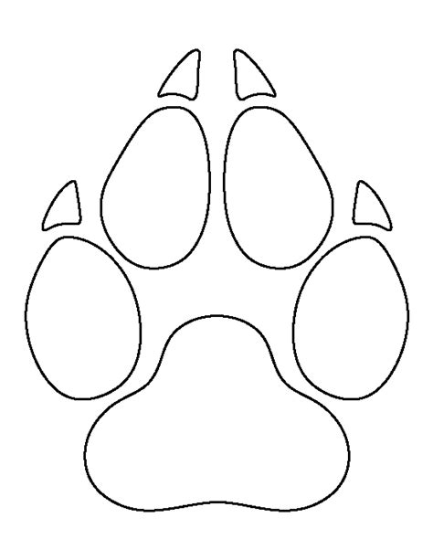 template simple wolf and pin by muse printables on printable patterns at
