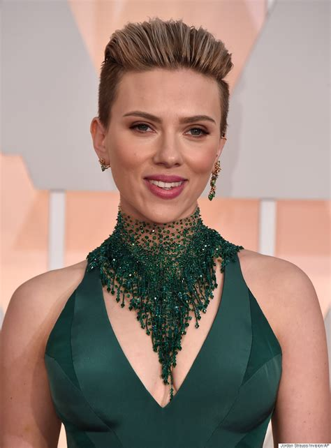 Scarlett Johansson's Oscars 2015 Dress Is Hot As ****